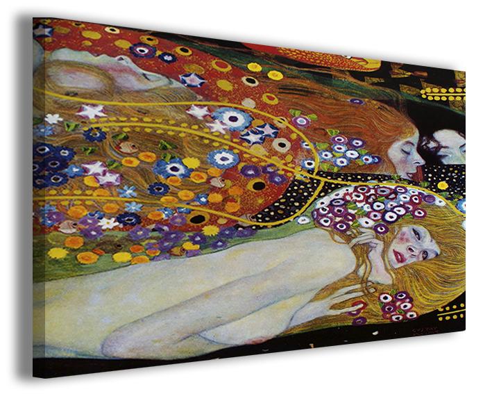 Quadri famosi Gustav Klimt bisce d\'acqua falsi d\'autore | Quadri ...